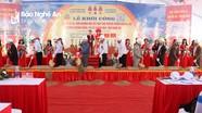 Thị xã Hoàng Mai khởi công trung tâm thương mại trị giá hơn 150 tỷ đồng