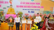 Tập đoàn TECCO cung tiến Đại Hùng Bảo Điện Tổ Đình Cần Linh trị giá 30 tỷ đồng