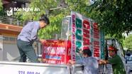 Thành phố Vinh: Chuyển động sau thiết lập trật tự hành lang an toàn giao thông