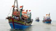 Ngư dân Nghệ An vượt sóng bám ngư trường