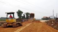 Thiếu đất san lấp cho các công trình xây dựng ở Yên Thành