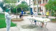 Nỗ lực phòng, chống dịch Covid-19 ở huyện lúa Yên Thành