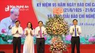 Lễ kỷ niệm 95 năm ngày Báo chí Cách mạng Việt Nam tại Nghệ An