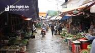 Chuẩn bị chấm dứt hoạt động chợ cũ thị trấn Tân Kỳ