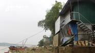 Thanh Chương: Sau lũ lụt người dân mất ăn, mất ngủ vì sạt lở nghiêm trọng