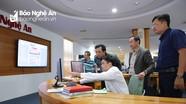 Báo Gia Lai thăm mô hình Tòa soạn hội tụ, trao đổi nghiệp vụ tại Báo Nghệ An
