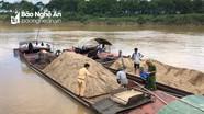 Khai thác cát sỏi trái phép ở Nghệ An: Vì sao khó kiểm tra, giám sát?
