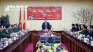 Chủ tịch UBND tỉnh chúc Tết trực tuyến đến chiến sỹ biên phòng các điểm chốt phòng dịch Covid-19