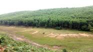 Nghệ An: Nhiều hồ khô cạn, nguy cơ thiếu nước sản xuất lúa