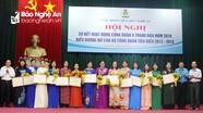 Công đoàn Viên chức Nghệ An biểu dương 16 nữ cán bộ công đoàn tiêu biểu
