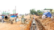 Nghệ An: Đầu tư gần 56 tỷ đồng làm công trình tránh trú bão cho tàu thuyền