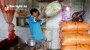 57 hộ dân ở Yên Thành đang bị nước lũ cô lập