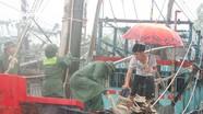 Hàng nghìn tàu thuyền của ngư dân Nghệ An đã cập bờ tránh bão số 4