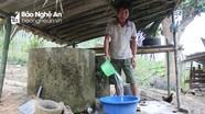 Hiệu quả từ việc quản lý hệ thống nước tự chảy ở huyện miền núi Nghệ An