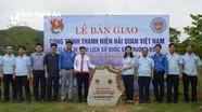 Tuổi trẻ Tổng cục Hải quan bàn giao công trình thanh niên tại Khu Di tích Truông Bồn