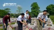 Hiệp hội Bất động sản tỉnh Nghệ An dâng hương tưởng niệm các Anh hùng liệt sỹ