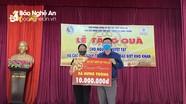 Quỹ từ thiện Tâm Quê tặng quà tại xã Hưng Thông, Hưng Nguyên
