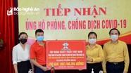 Ủy ban MTTQ tỉnh tiếp nhận 5.000 phần quà hỗ trợ người dân bị ảnh hưởng dịch Covid-19