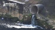 Kênh, hồ ở thành phố Vinh đen như mực vì ô nhiễm