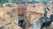 Nghệ An: 3 người tử nạn do sập mỏ thiếc cũ Suối Bắc