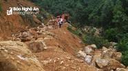 Nghệ An: Đột nhập 'mỏ' quặng thạch anh trái phép ở khu vực biên giới Việt - Lào