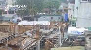Dự án khách sạn 20 tầng của Tập đoàn Hoành Sơn gây sụt lún, rạn nứt nhà dân thành phố Vinh