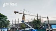 Niêm phong cổng vào dự án của Công ty CP Tập đoàn Hoành Sơn tại thành phố Vinh