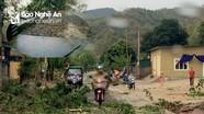 Mưa đá kèm lốc xoáy làm hư hỏng 149 nhà dân ở miền Tây Nghệ An