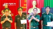 Nghệ An: Trao quyết định bổ nhiệm hai Đồn trưởng Đồn Biên phòng