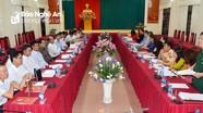 Nghệ An - Vĩnh Long trao đổi kinh nghiệm thực hiện Chỉ thị 05 của Bộ Chính trị