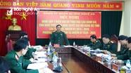 Đảng ủy Quân sự tỉnh góp ý kiến Dự thảo Báo cáo Chính trị Đại hội Đảng bộ tỉnh lần thứ XIX