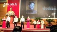 Hai Nhà báo ở Nghệ An được tôn vinh 'Người làm báo tiêu biểu' toàn quốc