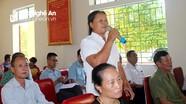 Cử tri huyện Anh Sơn kiến nghị nhiều vấn đề liên quan đến đời sống dân sinh