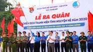 Tuổi trẻ Nghệ An ra quân Chiến dịch tình nguyện hè 2020 tại xã vùng biên Mỹ Lý (Kỳ Sơn)