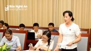 Đại biểu HĐND tỉnh đề xuất tăng cường đôn đốc cải cách hành chính, nâng cao chất lượng dịch vụ công