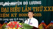 Đồng chí Nguyễn Đức Trung: Sớm đưa Đô Lương về đích nông thôn mới vững chắc