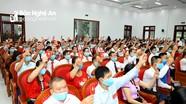 Bế mạc Đại hội đại biểu Đảng bộ huyện Quỳ Hợp, nhiệm kỳ 2020 - 2025