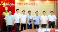 Thường trực Tỉnh ủy Nghệ An gặp mặt cán bộ được nghỉ hưu theo chế độ