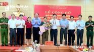 Điều động, bổ nhiệm cán bộ ở Huyện ủy Anh Sơn
