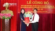 Quyền Bí thư Tỉnh đoàn Nguyễn Thị Thơm được điều động giữ chức Bí thư Huyện ủy Hưng Nguyên  