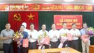 Công bố các quyết định về công tác cán bộ tại Quỳnh Lưu