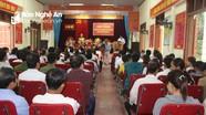 Đại biểu Quốc hội tiếp xúc với cử tri Anh Sơn trước kỳ họp thứ 10