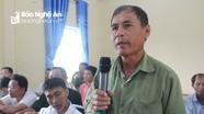 Cử tri Con Cuông kiến nghị nâng hạn mức vốn vay ưu đãi cho nông dân