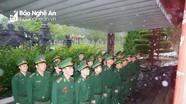 Bộ đội Biên phòng Nghệ An tưởng niệm các anh hùng liệt sỹ tại Khu Di tích lịch sử Truông Bồn