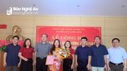Bổ nhiệm Phó Chánh Văn phòng Huyện ủy Anh Sơn