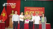 Tân Kỳ có tân Chủ tịch UBND huyện