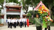 Trưởng Ban Tuyên giáo Trung ương tưởng niệm Chủ tịch Hồ Chí Minh tại Khu Di tích Kim Liên