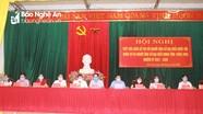 Các ứng viên đại biểu Quốc hội và đại biểu HĐND tỉnh tiếp xúc cử tri huyện Anh Sơn
