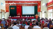 Các ứng cử viên Đại biểu Quốc hội và Đại biểu HĐND tỉnh tiếp xúc cử tri tại Nghĩa Đàn