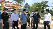 Đoàn công tác của tỉnh kiểm tra công tác phòng, chống Covid-19 ở huyện Quế Phong